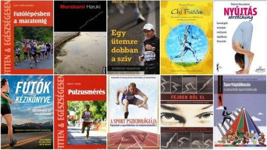 maratoni futás könyvek