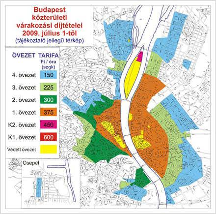 Budapest Utcakereso Terkepen Budapesti Parkolas