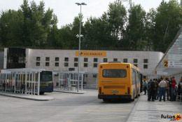 Újpest Városkapu Volán Buszok - pályaudvar