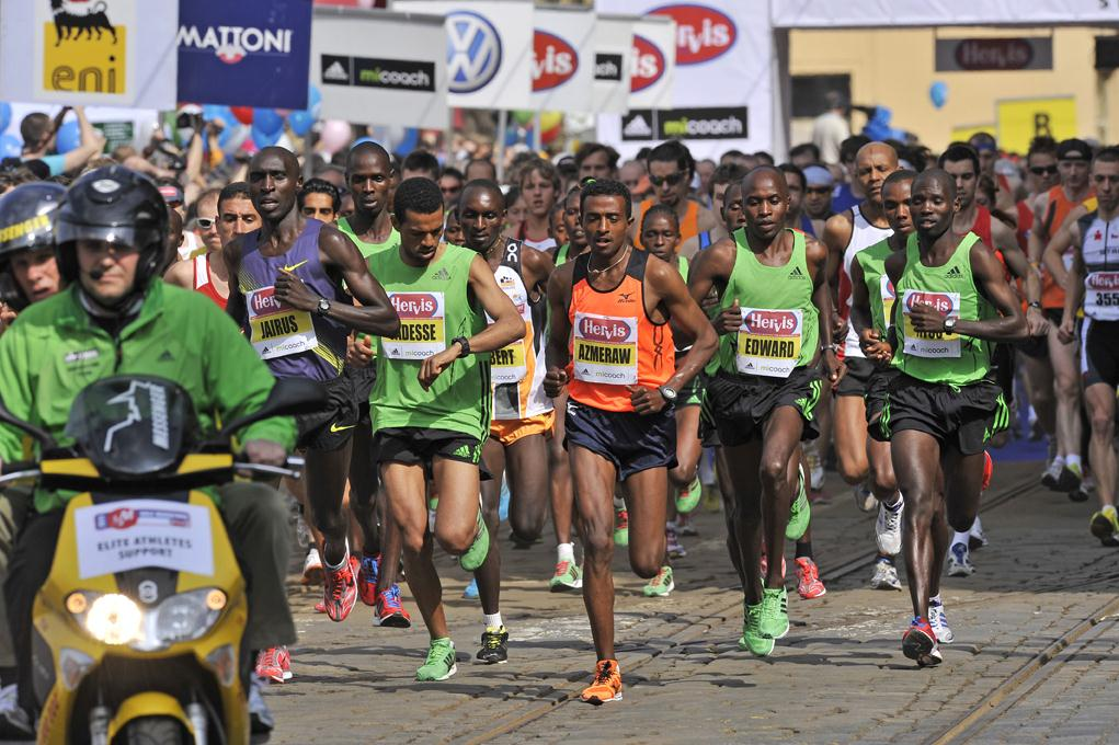 Prága félmaraton - Prague Half Marathon