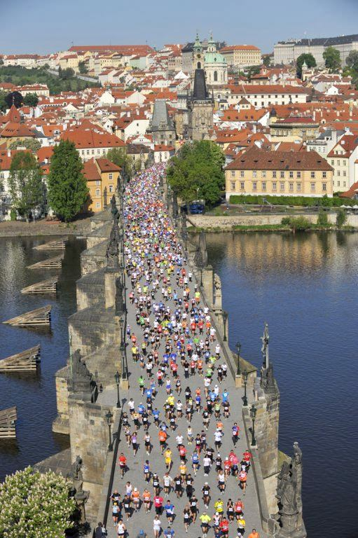 Prague Marathon Running 18th Volkswagen Maraton Praha 2012