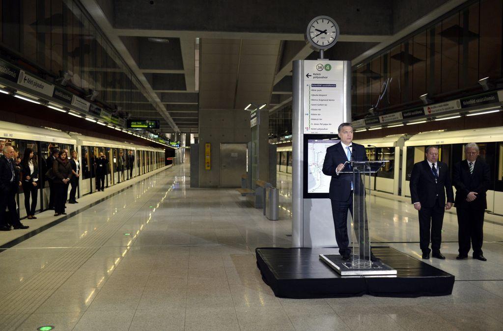 4 Es Metro Utvonal Terkepe Es Allomasai Budapest