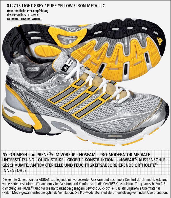 Adidas Supernova Control futócipő futócipő