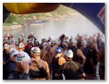 Triatlon Nagyatád Ironman úszás