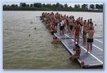 Szeged Csavarker Triatlon úszás Maty ér