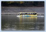 Autóbusz a Dunán úszik