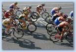 women bicycle race Triathlon World Championship Budapest VB