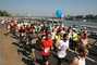 runners in Budapest run in Hungary
