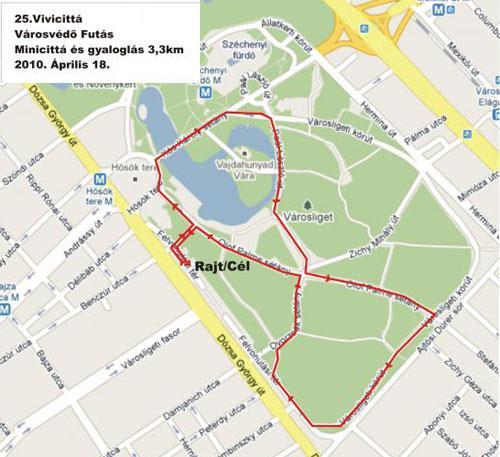 budapest térkép hősök tere Vivicitta Futás Budapest: Telekom Vivicittá Városvédő futás  budapest térkép hősök tere