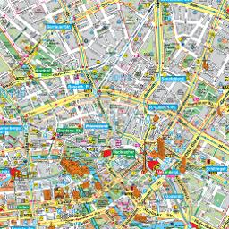budapest térkép nevezetességekkel Berlin térkép, Berlin látnivalóinak és nevezetességeinek térképe  budapest térkép nevezetességekkel