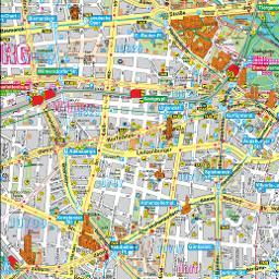 Berlin Terkep Berlin Latnivaloinak Es Nevezetessegeinek Terkepe
