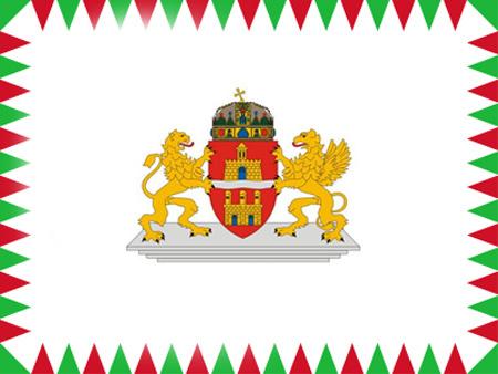 Budapes-zászló új budapesti zászló