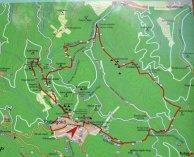 rám szakadék térkép Rám szakadék túra útvonala Rám szakadék térkép rám szakadék térkép