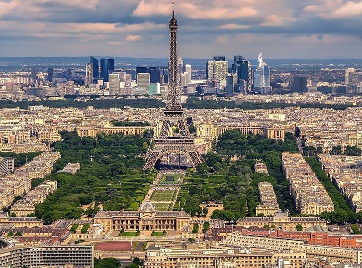 Parizs Budapest Tavolsaga Terkepen Legvonalban Es Autoval
