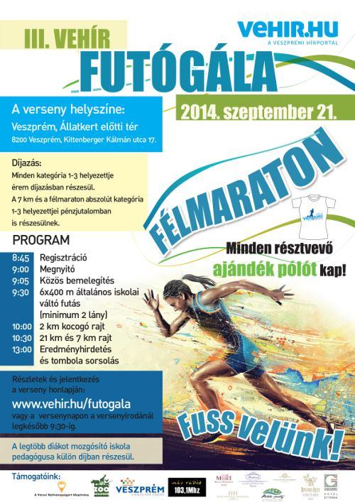 f34a63390719 III. Vehír Futógála Veszprémben | Futás futóverseny Budapest maraton ...